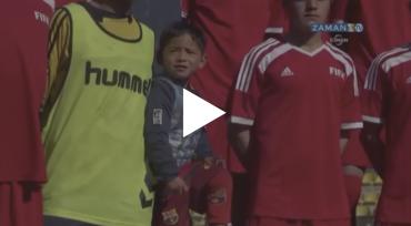 VIDEO: Murtaza cumple su primer gran sueño, aún le falta conocer a Messi