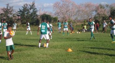 Jugadores del Juticalpa FC alegres con la contratación de Wilmer Cruz