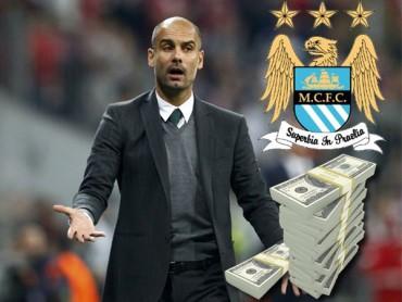 Guardiola cobrará 25 millones de Euros al año en el City