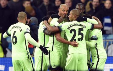 Manchester City dio un paso de gigante ente el Dinamo de Kiev