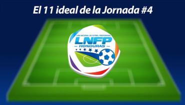 Este es el once ideal de la Jornada #4 del Torneo de Clausura