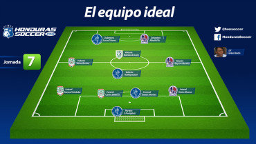 Este es el once ideal de la Jornada #7 del Torneo de Clausura