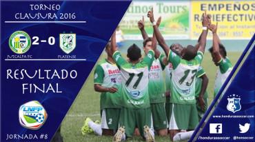 Juticalpa FC puso fin a su sequía de triunfos al vencer al Platense
