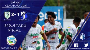 Platense con doblete de Luis Lobo vence al Honduras Progreso