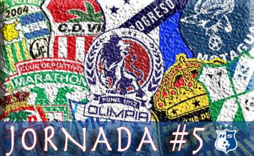 Lista la Jornada #5 del Torneo de Clausura de la Liga Nacional