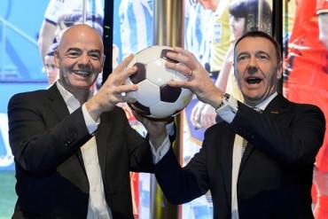 Infantino inauguró museo de la FIFA