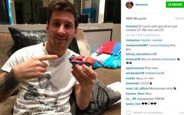 Así desmiente Messi la historia del Ferrari