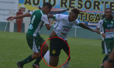 Lejos del profesionalismo, Platense juega con pantaloneta con escudo del Borussia Dortmund