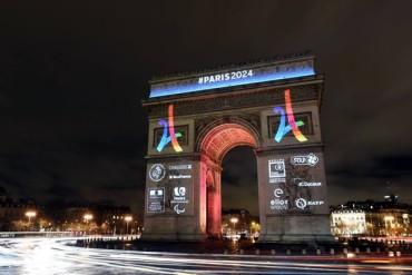 Con colorido logo, París presentó candidatura a JO