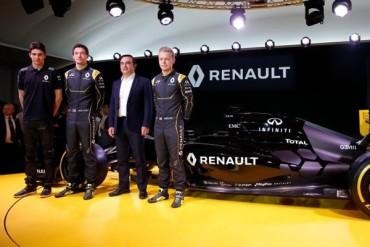Renault presentó a pilotos titulares