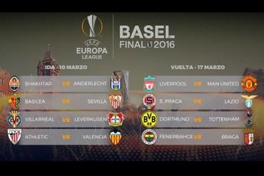 Definidos los Octavos en Europa League
