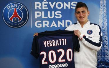 Verratti prolonga su contrato con el PSG
