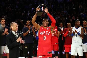 Westbrook, nombrado MVP del NBA All Star