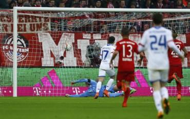 El Bayern cae en casa pero sigue siendo líder