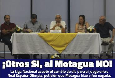 ¡Otros SI, al Motagua NO!
