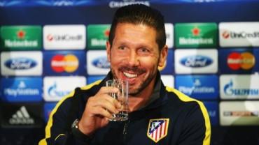 """Diego Simeone: """"Qué mejor que jugar contra el mejor del mundo"""""""