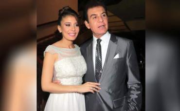 Salvador Nasralla contrajo nupcias con la miss Honduras Iroshka Elvir