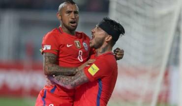La selección de Chile golea y hunde a Venezuela