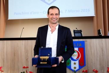 Allegri, premiado como Mejor DT en Italia