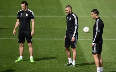 El Real Madrid tiene un tridente de cristal