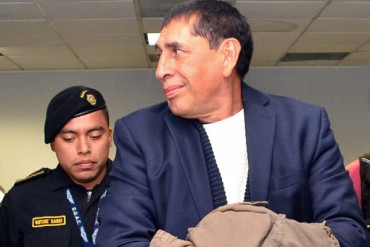 Expresidente guatemalteco, inocente en caso FIFA