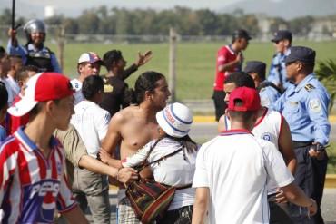 La violencia empaña nuevamente el fútbol nacional