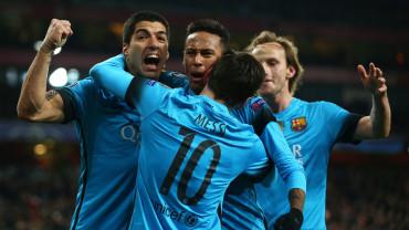 El Barcelona a terminar su tarea ante el Arsenal