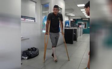 """Bryan Acosta se pierde los partidos de la """"H"""" ante El Salvador"""