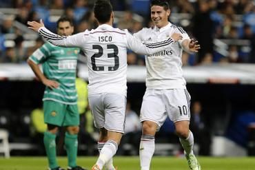 James e Isco, acusados de fiesteros en el Real Madrid