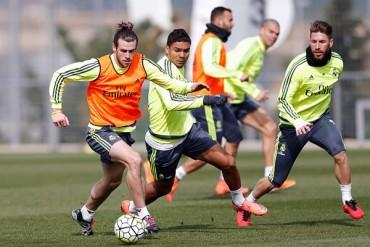 Bale, de regreso con el Real Madrid