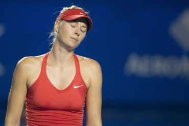 Suspendieron papel de Sharapova en PNUD