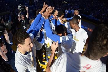 Warriors igualó récord de triunfos en casa
