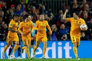 El Barcelona logró un triunfo sufrido ante el Atlético de Madrid