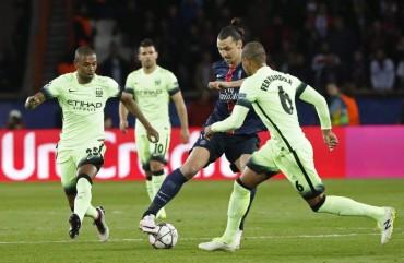En un vibrante partido, el PSG empató en su casa ante el Manchester City