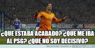 Los memes más divertidos del Real Madrid-Wolfsburgo de Champions