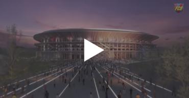 VIDEO: Así será el nuevo Nou Camp Nou, un sueño abierto al mundo
