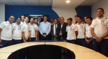 Fenafuth hizo oficial la juramentación de la Selección de Futsal