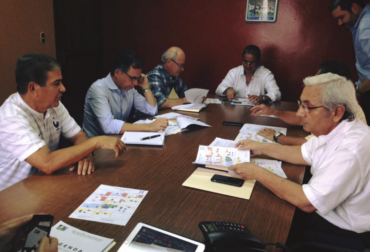 Jorge Luis Pinto se reunió con la Liga Nacional para analizar el calendario del próximo torneo