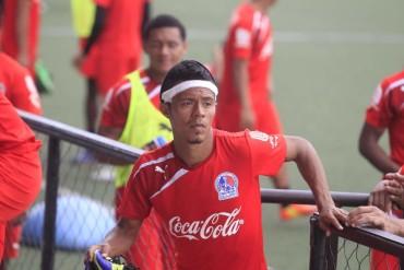 Bayron Méndez ya esta recuperado y podría jugar hoy ante Marathón