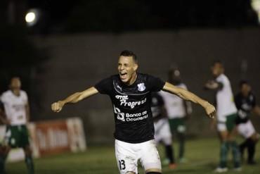 Despues de tres meses, Ángel Tejeda volvió a celebrar gol en Liga Nacional