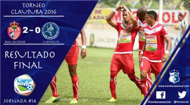 La Real Sociedad vence al Motagua y le incrementa la crisis