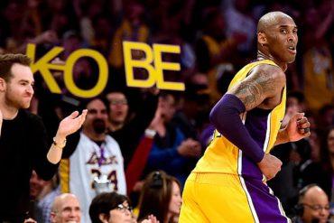 Adiós de leyenda; Kobe se despidió de la NBA