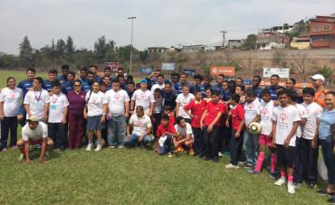 Motagua hizo pasar una inolvidable tarde a niños de Olimpiadas Especiales
