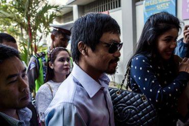 Pacquiao fue objetivo de secuestro extremista