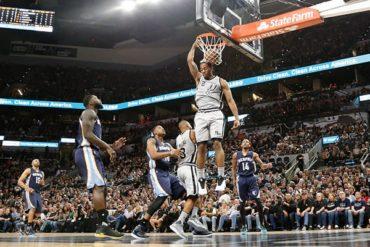 Basquetbol | Grizzlies 74-106 Spurs; 'robaron' el 3er cuarto