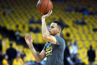 Curry, en duda para 2do partido ante Rockets