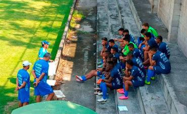 Sub-20 de Honduras ha iniciado con derrota su preparación