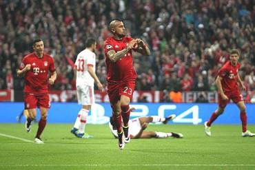 El Bayern solo venció por la mínima al Benfica