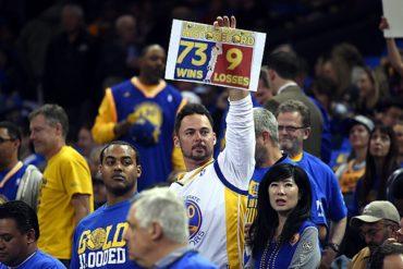 Warriors rompió récord de triunfos de Bulls