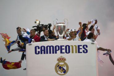 La celebración del la undécima del Real Madrid con sus aficionados